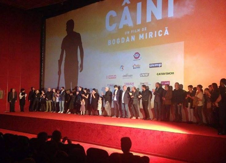 "The #premieregala in Romania, of the movie ""Dogs"" by writer-director Bogdan Mirica. A movie premiered in #cannes2016 in the #uncertainregard section."