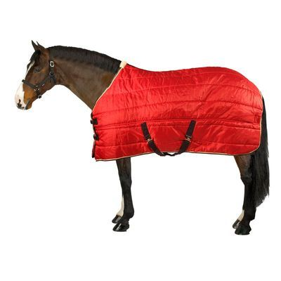 Fouganza STABLE 200 RED/NAVY 8313460