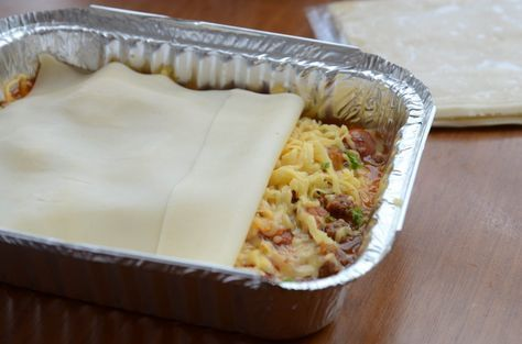 Faça em casa! Lasanha congelada, do freezer para o forno! Praticidade para seu jantar!