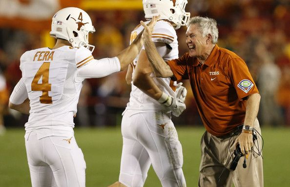 NCAA Football Betting: Free Picks, TV Schedule, Vegas Odds, Texas Longhorns vs. Iowa State Cyclones, Oct 31st 2015