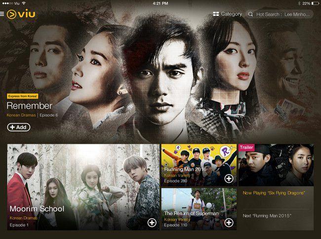 Viu Singapore app Free And Latest Korean Shows On-The-Go