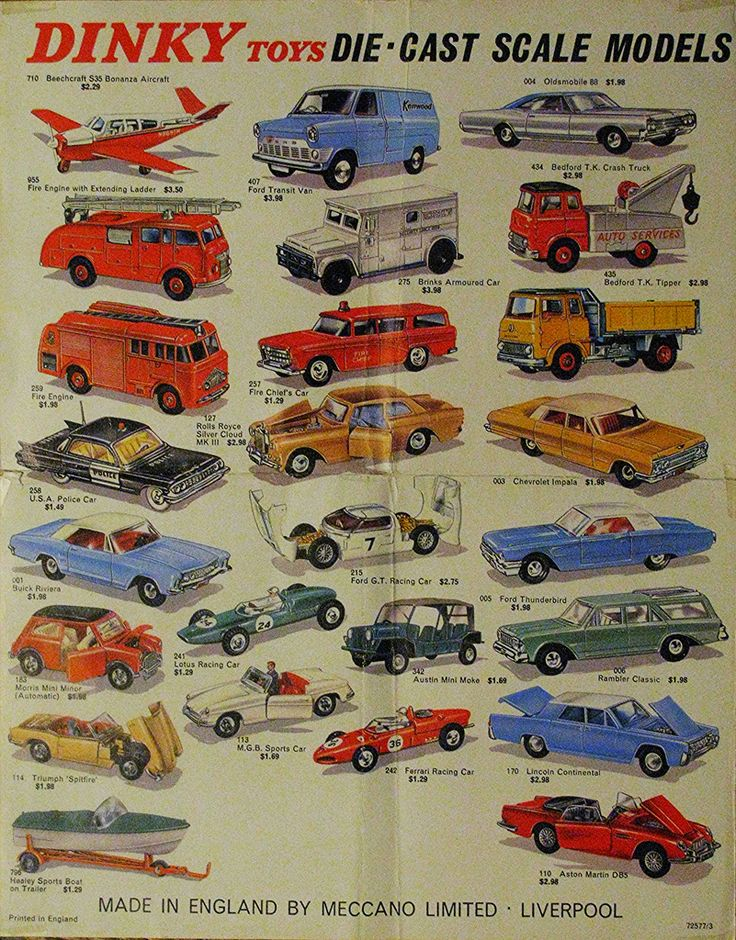 DINKY TOYS (streamer020nl) Tags: uk england cars scale liverpool poster toys models gb vehicle leaflet dinky meccano diecast jouets dinkytoys spielwaren