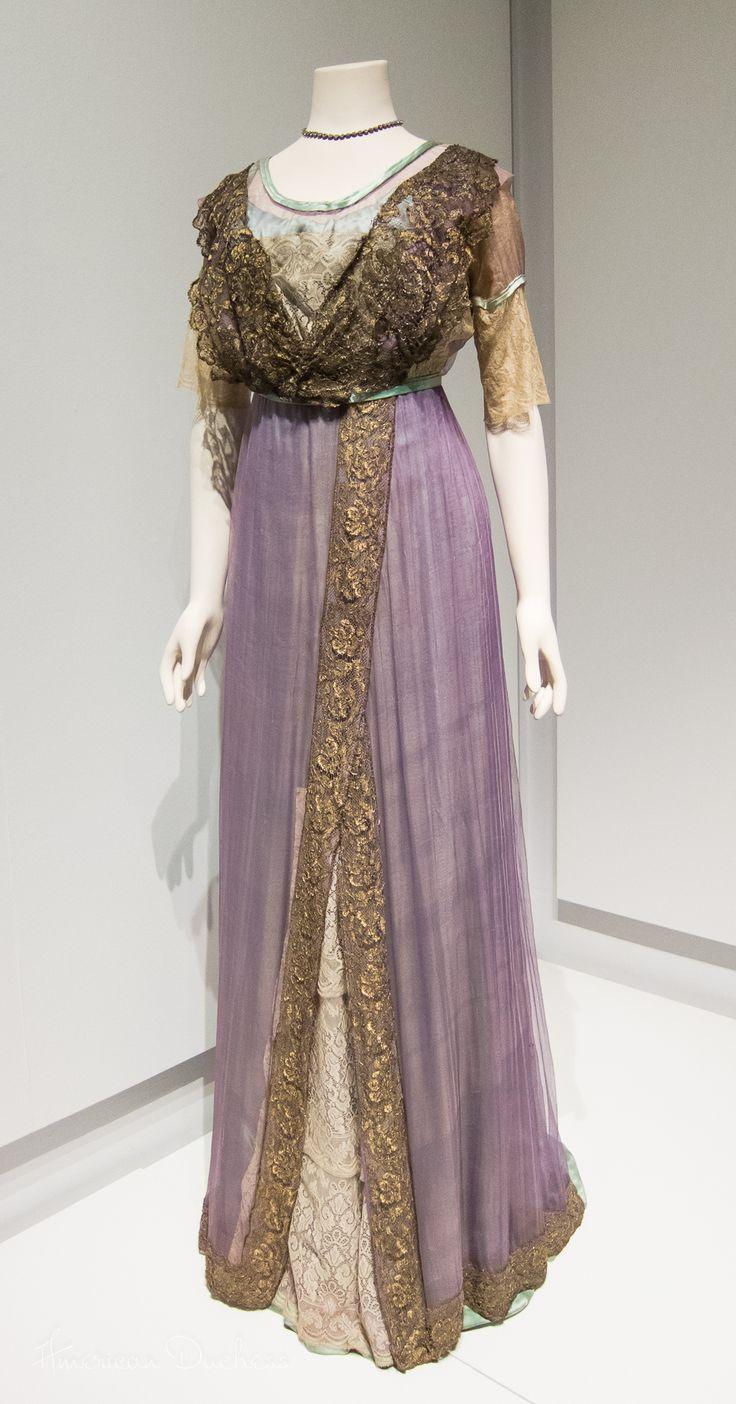 Evening Dress -  c. 1910-12 Lady Lever Gallery, Port Sunlight, UK