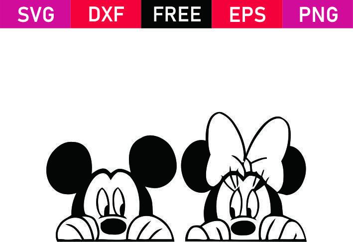 Free Svg Mickey Minnie Mouse Love Minnie Mouse Cricut Ideas Disney Silhouettes Disney Scrapbook