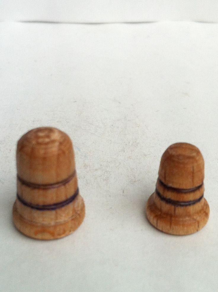 Mini dedales de madera.