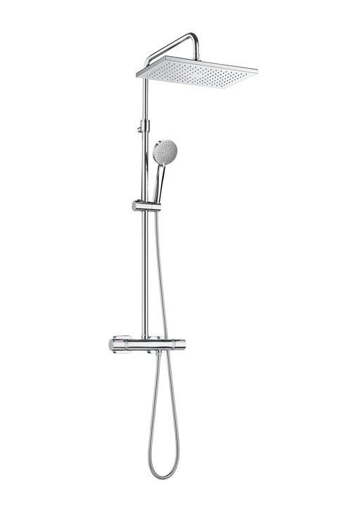 SQUARE - Columna de ducha termostática   Columnas de ducha   Grifería para ducha   Grifería   Productos   Roca