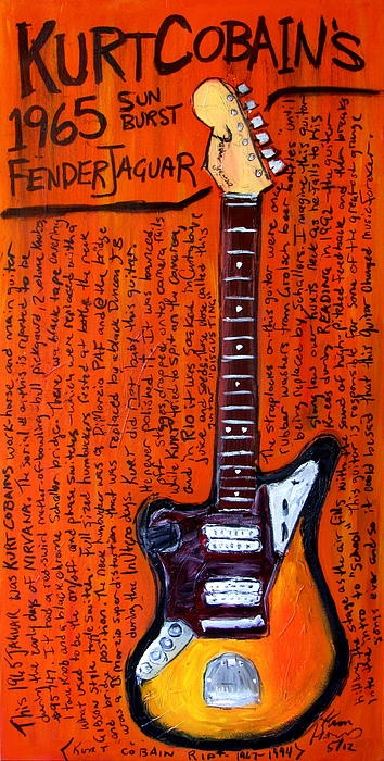 My newest guitar painting