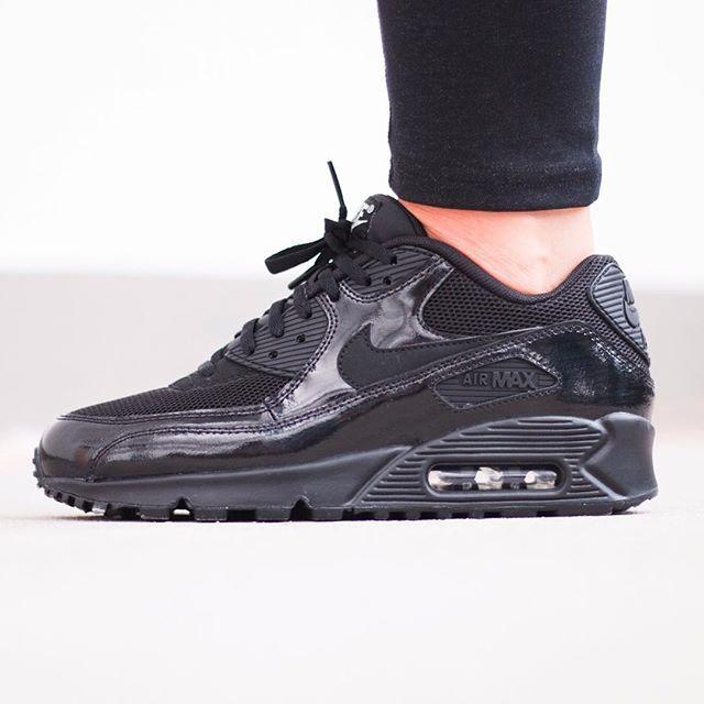 Nike WMNS Air Max 90 PRM (schwarz / schwarz) - 43einhalb Sneaker Store Fulda