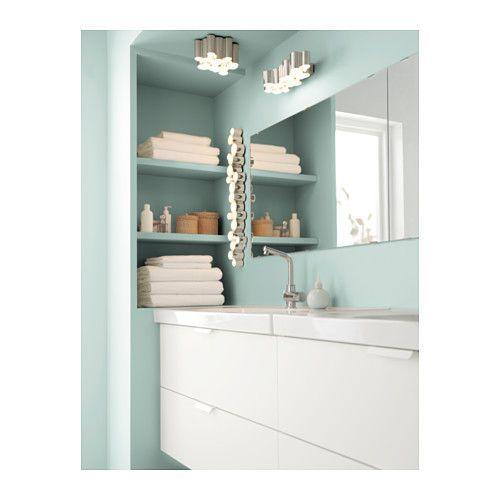 Miroir Salle De Bain Tablette Spot : 1000 idées sur le thème Applique Murale Ikea sur Pinterest