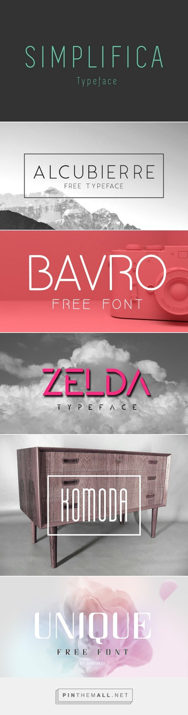 60 Free Sans Serif Fonts to Give Your Designs a Modern Touch \u2013 Design School... - a grouped images picture