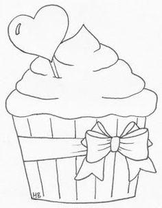 riscos de bolos,doces,sorvetes