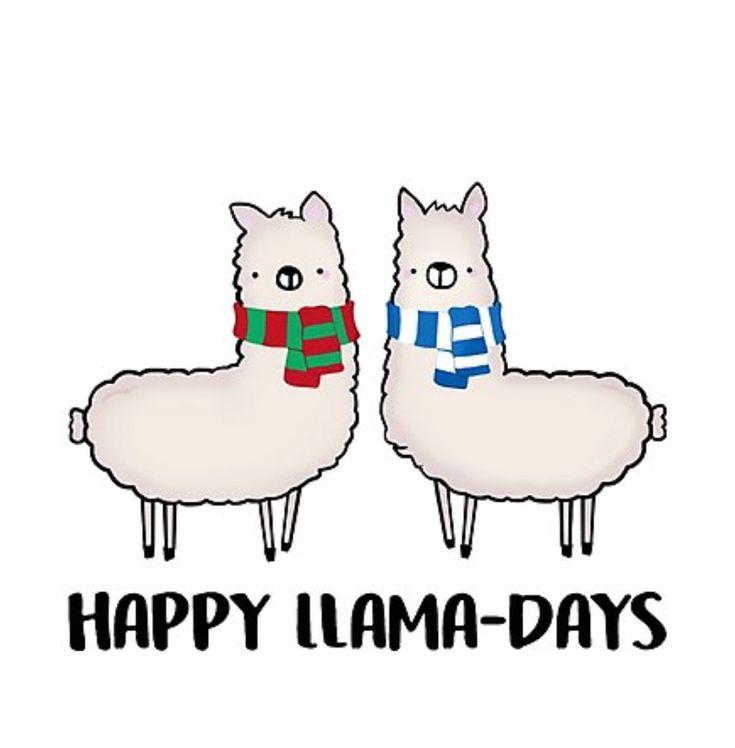 Happy Llama-Days | Stacey Roman