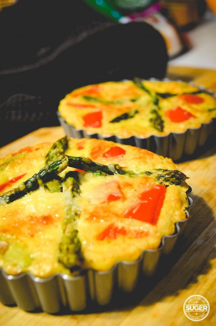 Ta-dah! a fresh Thermomix Crustless Quiche #recipe from @sugercoatit