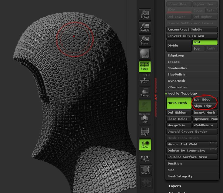 How to Create a Chain Mail Hood in ZBrush | Alexander Rebholz - Digital Artist & Photographer