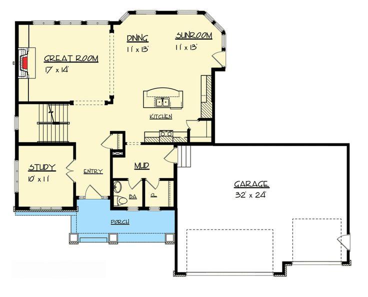 Plan 73302HS: Awesome Open Floor Plan | Open floor