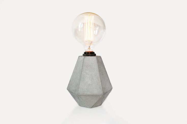 Rough Diamond Lamp
