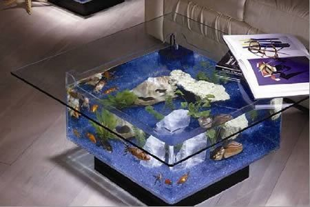 From a guitar shaped table to an iphone one, meet twelve craziest designs that are surely going to bring fun to your coffee time. (coffee tables, unusual coffee tables)