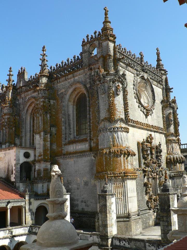 XII. századi remekmű Portugáliában http://kozelestavol.cafeblog.hu/2017/04/02/templomos-lovagok-kolostora-tomarban/