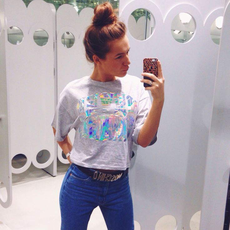 Never growing up t-shirt by Monki