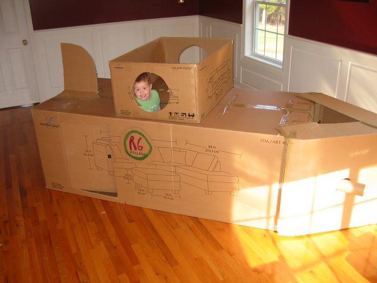 Inspiration: Stuff We Make: Cardboard Submarine - Because I'm making one of these