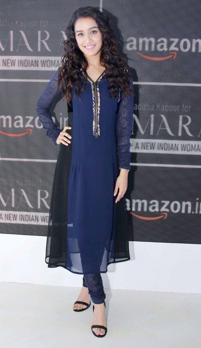 Shraddha Kapoor at the AIFW in Delhi.