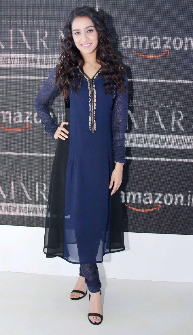 Shraddha Kapoor at the AIFW in Delhi.