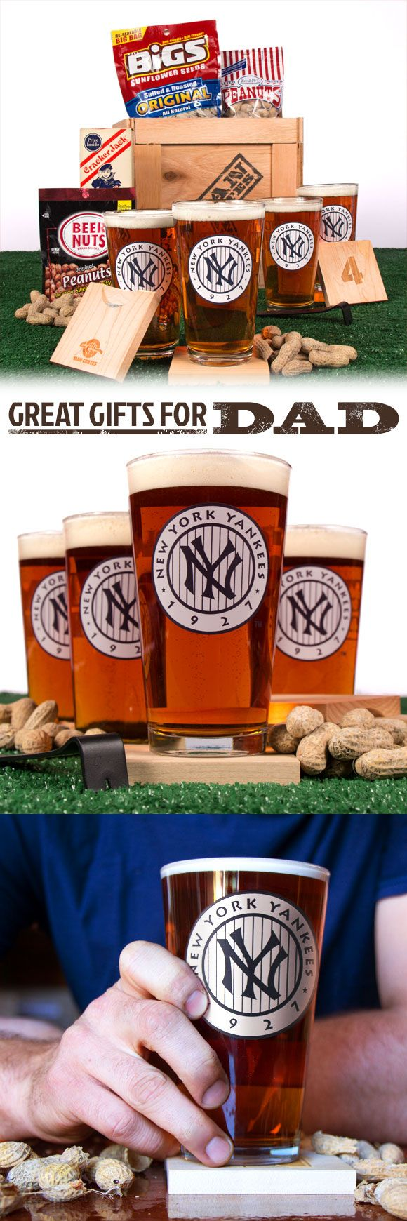 Is your Dad a true student of the game? The Legends of Baseball Crate is the perfect Father's Day gift for any baseball fan that's followed the greats since their first trip to the plate. There's no better way to pass down classic baseball stories than by passing around a few frothy beverages in these throwback brewholders celebrating the most historic teams from every era.