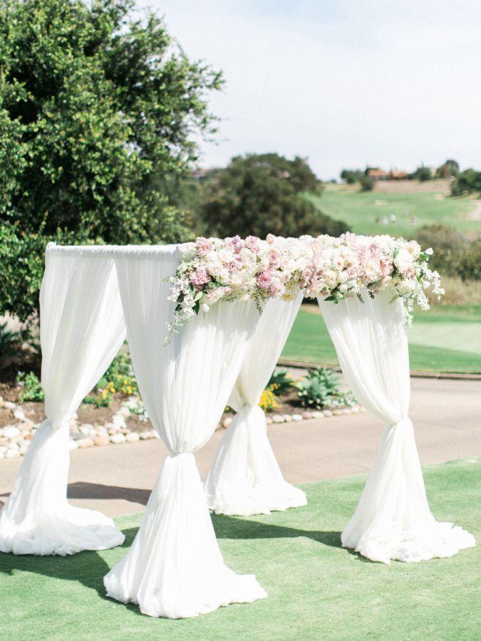 Beautiful Garden Wedding Ideas: Traditional + Elegant Fairytale Wedding In San Diego