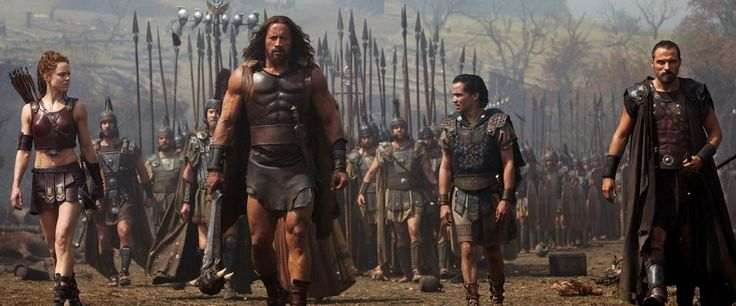 Hercules Movie Review by Roger Eber.com.  Not a good review - but I always like the movies Roger doesn't like.  Good cast, action, and good escapism.  And, Dwayne Johnson looks extra buffed. What's not to like?