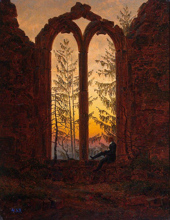 "I'm a Romantic.Caspar Friedrich, one of my favorite artist of 1800. ""Dreamer"" by Casper Friedrich"