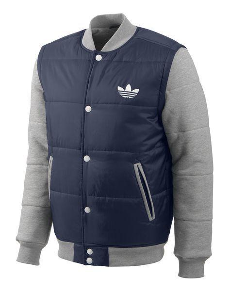 adidas Originals Mens Padded Removeable Sleeve Jacket