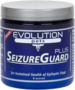 Seizure Guard PLUS: SeizureGuard rebalances and increases your dog's immune, neurological, kidney, circulatory, and defensive systems up to optimal performance. As a result your dog will be less likely to experience a seizure, and perhaps the most critical benefit of SeizureGuard is that, when a seizure does occur, your dog will be able to recover quickly from it.  Designed by veterinarians to be used in conjunction with prescribed medication.