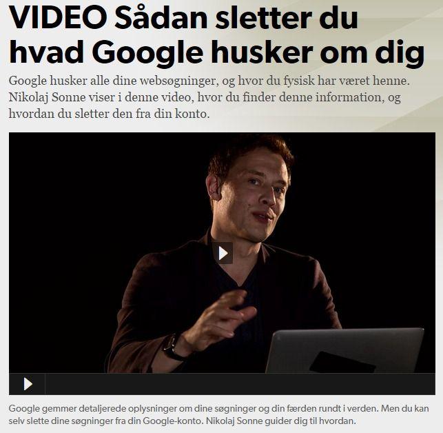 (2015-03) Sådan sletter du hvad Google husker om dig