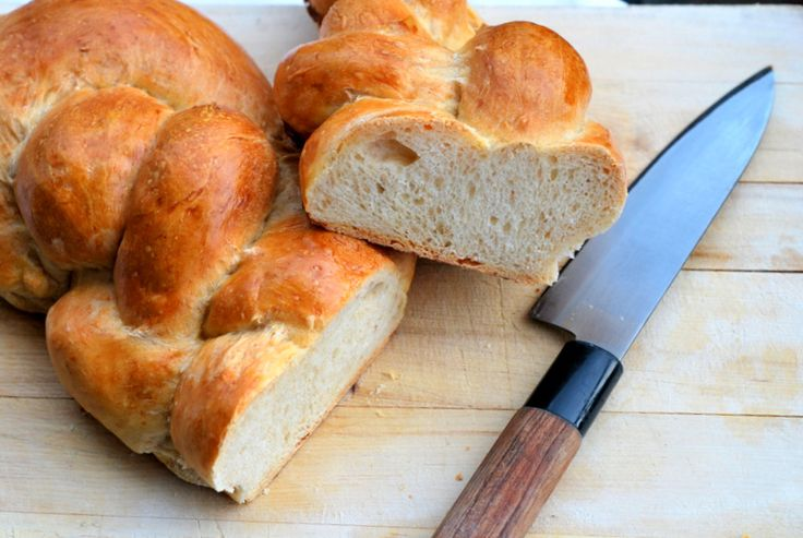 Pan trenzado. Mira la receta. Hace click en VISITAR ↗