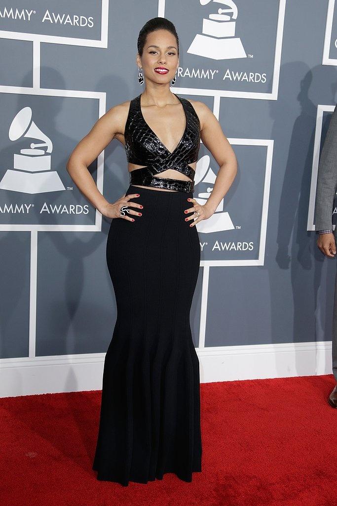 Alisha Keys Grammy Awards 2013