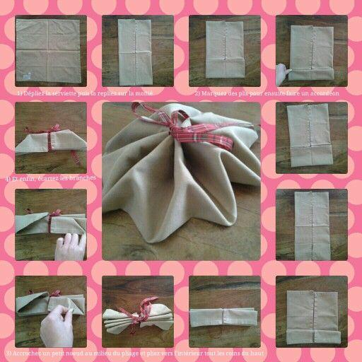 55 best pliages de serviette / napkin folding images on pinterest