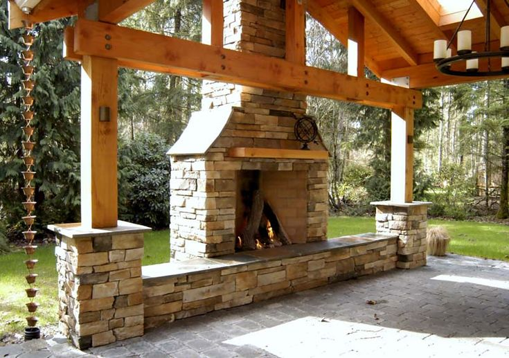 Rumford Chimney Outdoor Chimney Front Seating Drystack