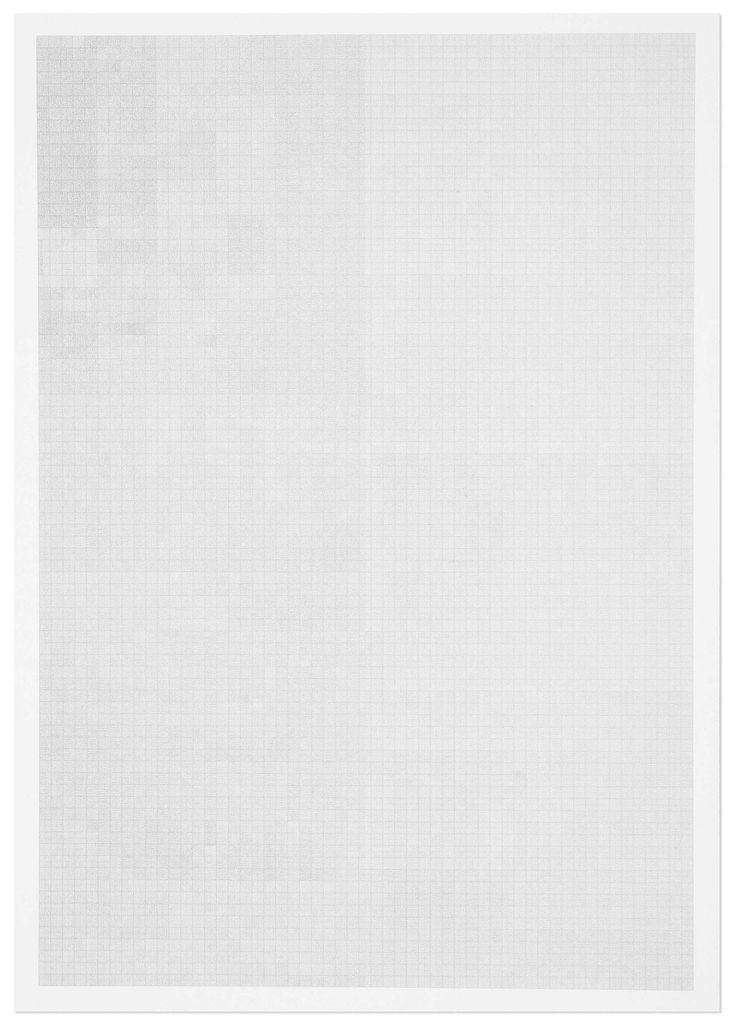 Millimetre Graph Paper Dotted : Daniel Eatock