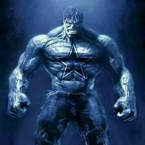 DALLAS COWBOYS - INCREDIBLE HULK