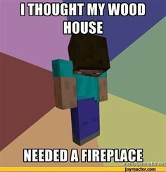 funny minecraft quotes - Google Search