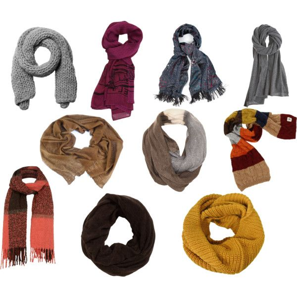 """Natural Personality Style (Scarves)"" by silhouetteimage on Polyvore"