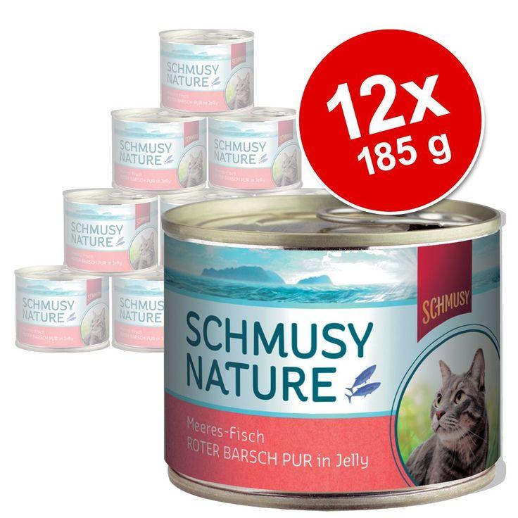 Animalerie  Schmusy Nature poisson 12 x 185 g pour chat  sébaste pur