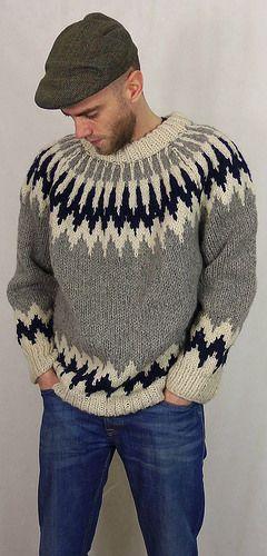 Icelandic wool sweater   by Mytwist