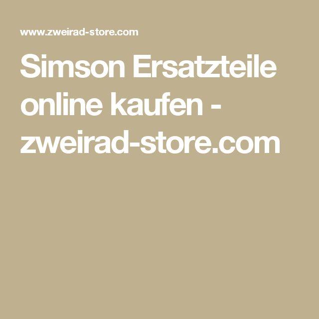 Simson Ersatzteile online kaufen - zweirad-store.com