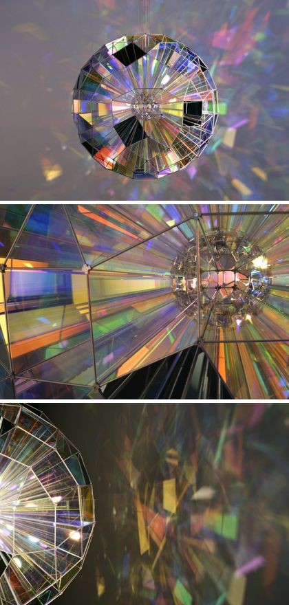 Colour Square Sphere by Studio Olafur Eliasson #art #installation