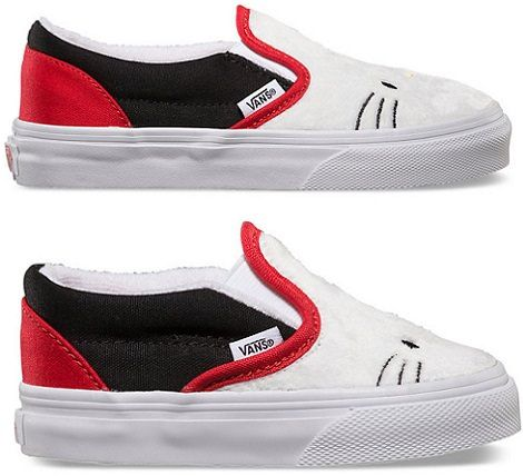zapatillas de vans de Hello Kitty