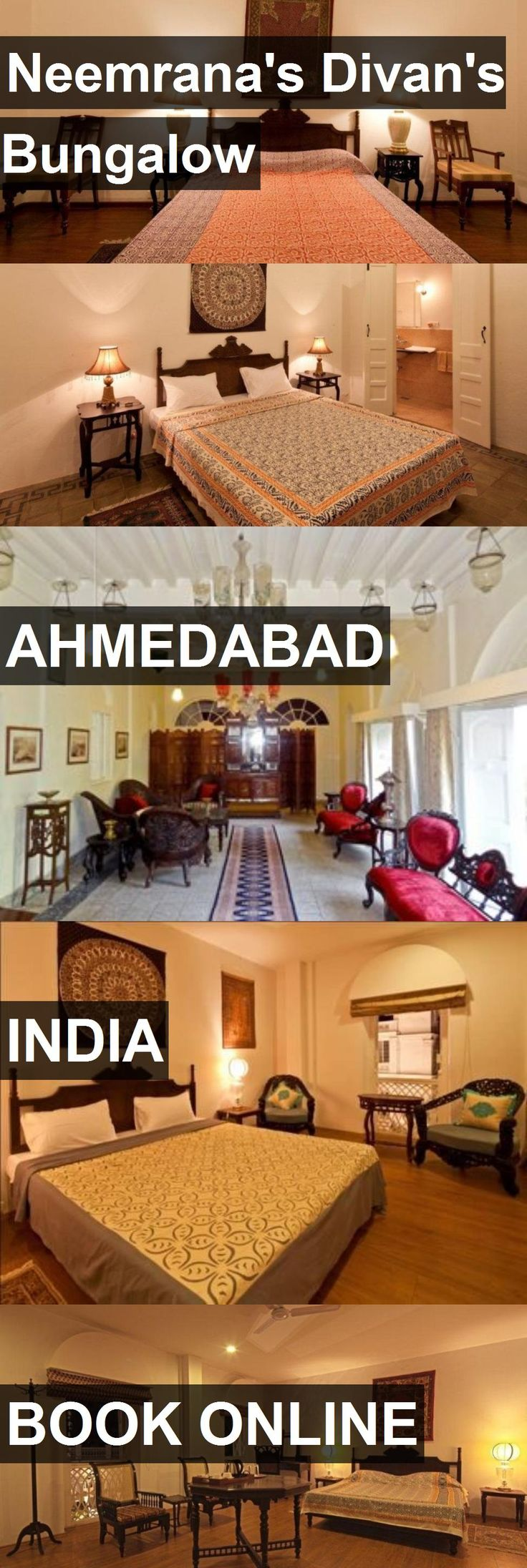 Hotel Neemrana's Divan's Bungalow in Ahmedabad, India. For more information, photos, reviews and best prices please follow the link. #India #Ahmedabad #travel #vacation #hotel