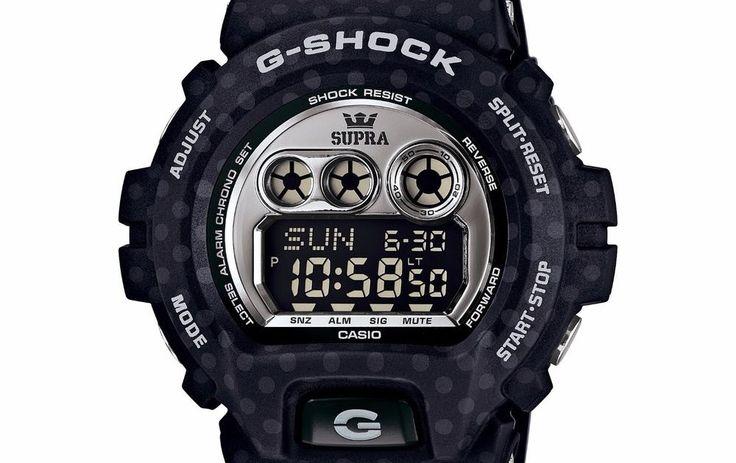 Casio G-Shock Mens GDX6900SP-1 Quartz Black/Grey Dial Black Resin Band 54mm