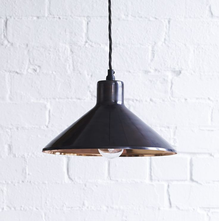 We modelled this on a pendant we saw in a shop in Copenhagen.  It has all the Scandi cool you could wish for, whilst being sleek and classic