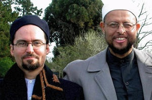 Skaykh Hamza Yusuf and Imam Zaid Shakir meeting such great personalities, they are so humble and kind.
